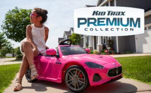 Kid Trax Electric Kids Luxury Maserati Convertible Ride-On Toy Car