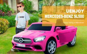 Uenjoy 12V Licensed Mercedes-Benz SL500